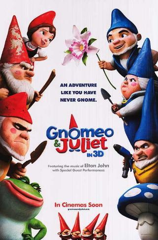 Gnomeo and Juliet Doppelseitiges Poster