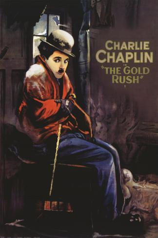 Goldrausch Kunstdruck