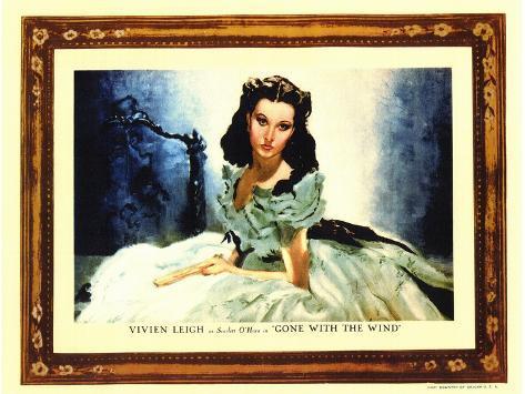 Gone With The Wind, 1939 Kunstdruk