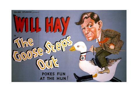 Goose Steps Out (The) Kunstdruck