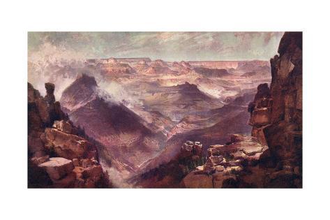 Grand Canyon Giclée-Druck