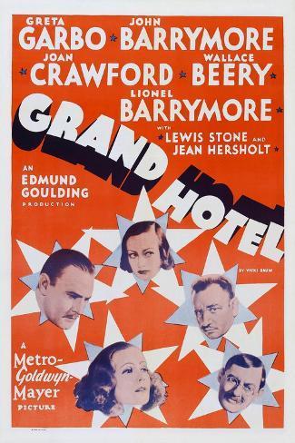 Grand Hotel, 1932 Kunstdruck