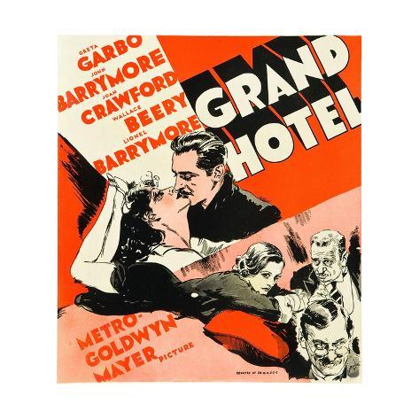 GRAND HOTEL Kunstdruck