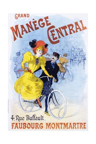 Grand Manege Central Advertisement Poster Giclée-Druck