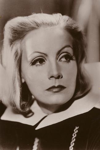Greta Garbo, Swedish Actress and Film Star Fotografie-Druck