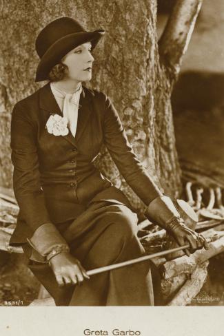 Greta Garbo Fotografie-Druck