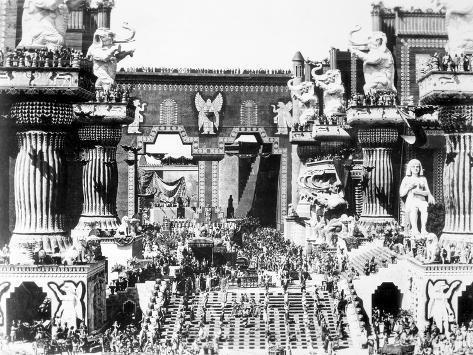 Griffith: Intolerance 1916 Giclée-Druck