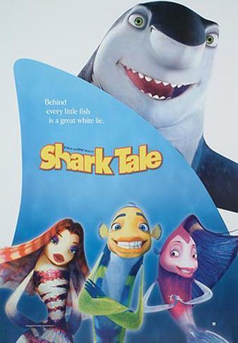 Große Haie– Kleine Fische Poster