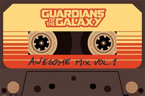 Guardians Of The Galaxy - Awesome Mix Vol. 1 Poster