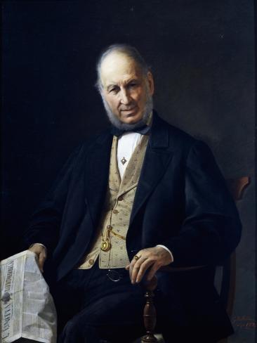 Portrait of Giovanni Battista Massani Giclée-Druck