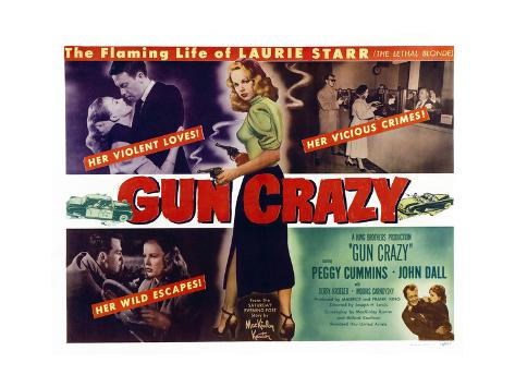 Gun Crazy (aka Deadly Is the Female) Kunstdruck