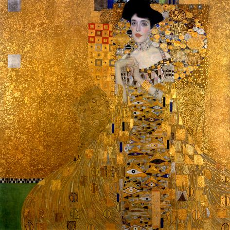 Adele Bloch-Bauer I, 1907 Giclée-Druck