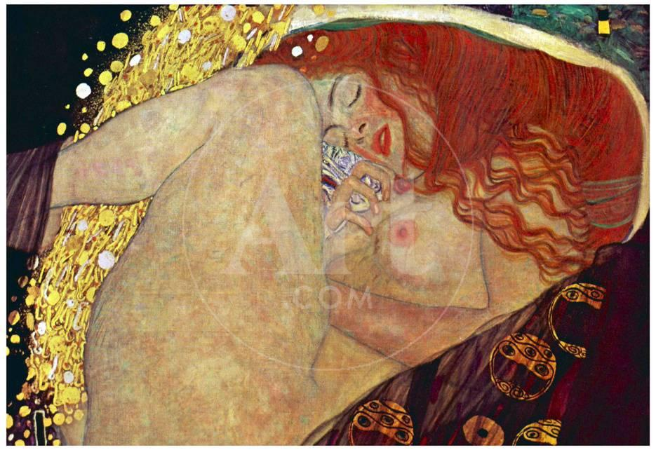 Gustav Klimt (Danae) Art Poster Print Kunstdrucke bei AllPosters.de