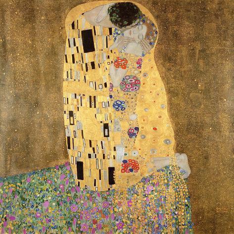 Der Kuss, 1907-1908 Giclée-Druck