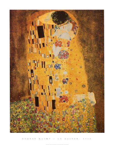 Der Kuss, ca. 1907 Kunstdruck