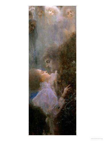 Liebe (Love), 1895 Giclée-Druck