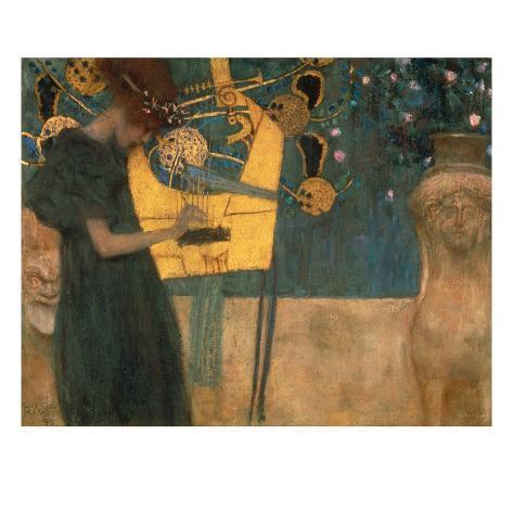 Musik, 1895 Giclée-Druck