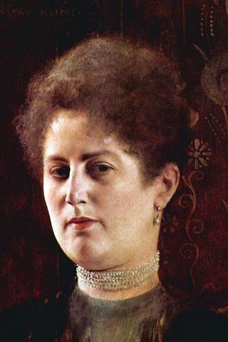 Portrait of a Woman Wandtattoo