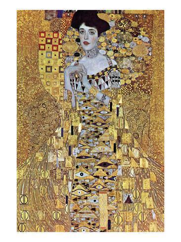 Portrait of Block-Bauer Giclée-Premiumdruck