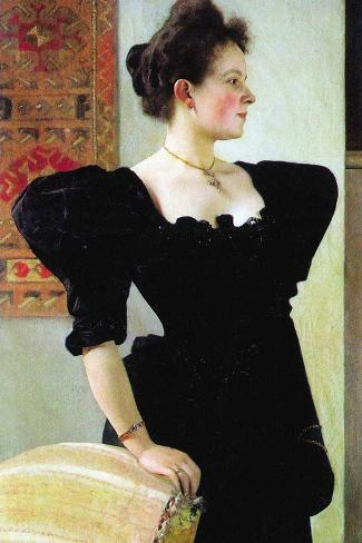 Portrait of Marie Breunig Wandtattoo
