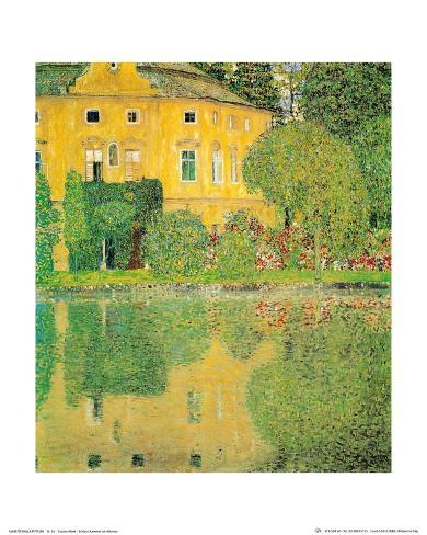 Schloss Kammer at Attersee Kunstdruck