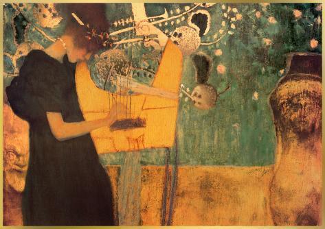 The Music Kunstdruck
