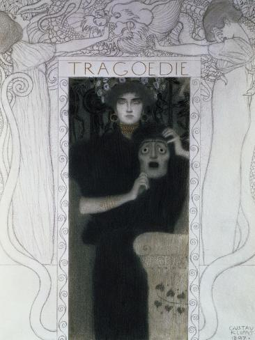 Tragedy, 1897 Giclée-Druck