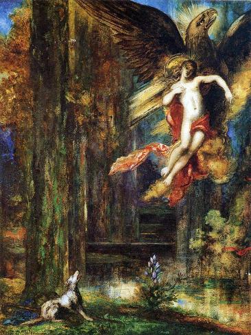 Ganymede, 1886 (W/C and Gouache on Paper) Giclée-Druck