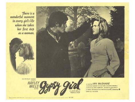 Gypsy Girl, 1966 Kunstdruck