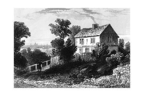 Hampstead Steele Giclée-Druck