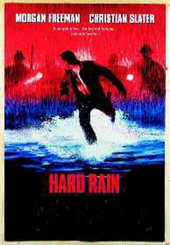 Hard Rain Originalposter