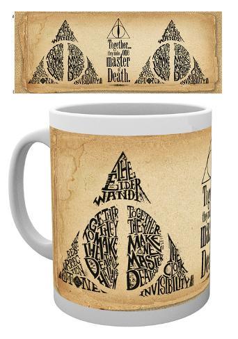 Harry Potter - Deathly Hallowes Words Mug Becher