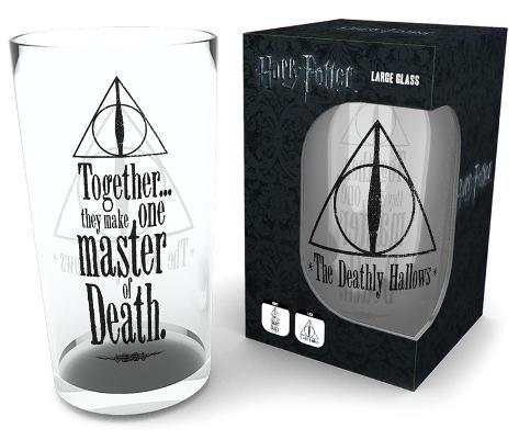 Harry Potter - Deathly Hallows 500 ml Glass Aparte producten