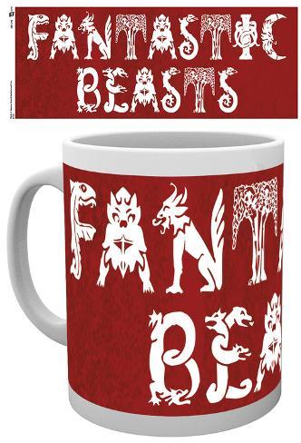 Harry Potter Fantastic Beasts Mug Becher