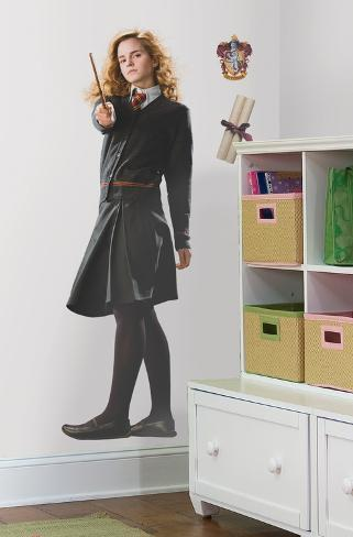 harry potter hermione peel stick giant wall decal wandtattoo bei. Black Bedroom Furniture Sets. Home Design Ideas