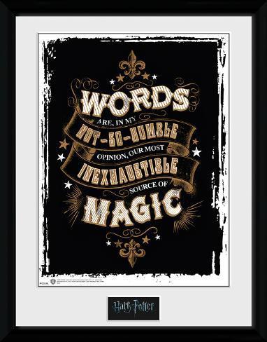 Harry Potter - Words Sammlerdruck