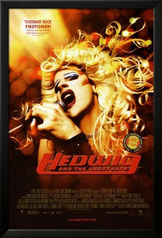 Hedwig And The Angry Inch Laminiertes gerahmtes Poster