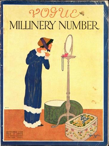 Vogue Cover - September 1912 Giclée-Premiumdruck
