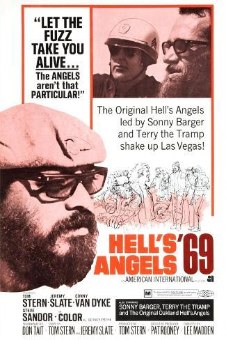 Hell's Angels '69, Sonny Barger, 1969 Kunstdruck