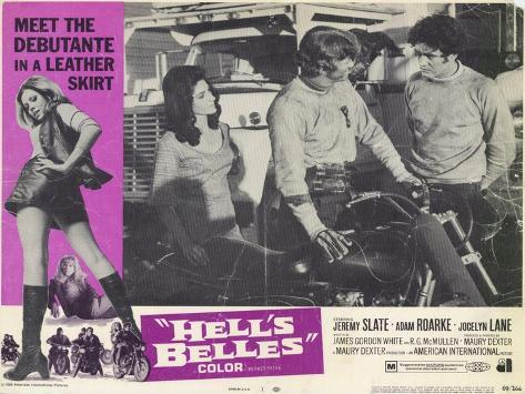 Hell's Belles, 1969 Kunstdruck