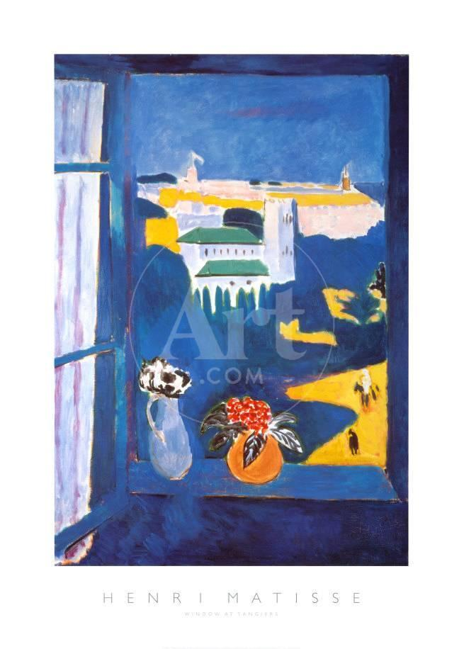Fenster in Tanger Poster von Henri Matisse bei AllPosters.de