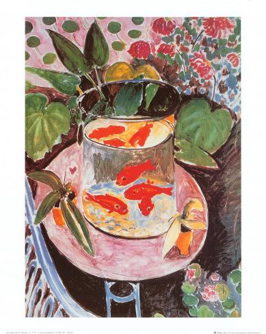 Goldfische Kunstdruck