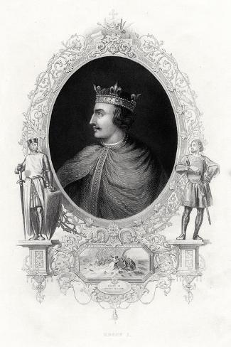 Henry I, King of England, 1860 Giclée-Druck