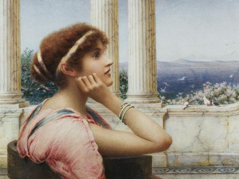 A Classical Beauty Giclée-Druck