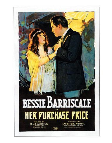 Her Purchase Price - 1919 Giclée-Druck