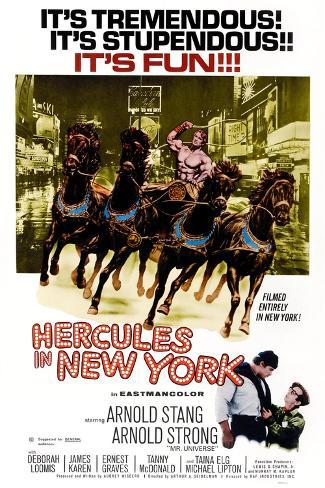 Hercules in New York Kunstdruck