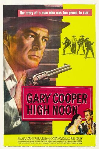 High Noon, 1952, Directed by Fred Zinnemann Giclée-Druck