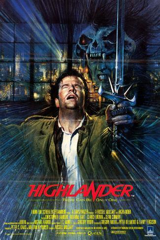 Highlander–Es kann nur Einen geben Kunstdruck