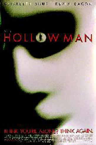 Hollow Man– Unsichtbare Gefahr Originalposter