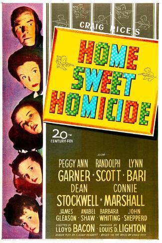 Home Sweet Homicide Kunstdruck